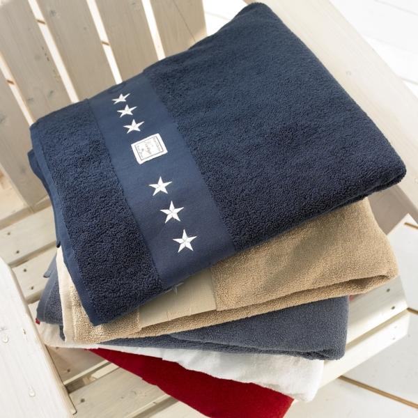 Handdukar med stjärnor från Grand Design hos Longcoast Living.