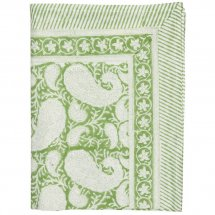 Duk Big Paisley Light Green, 2 strl.