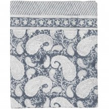 Table Cloth Big Paisley Sea Blue, 3 sizes