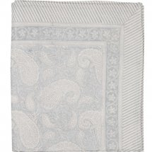 "Table Cloth Big Paisley ""Silver"" 3 sizes"