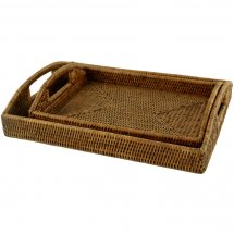 Rattan tray by Baolgi.