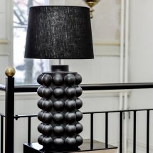 Lamp Bubbles Matte Black