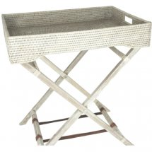 Rattan tray table by Baolgi.