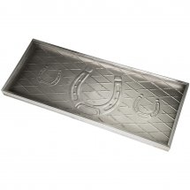 Boot tray horse shoe by Calibo. Buy from Longcoast Living.