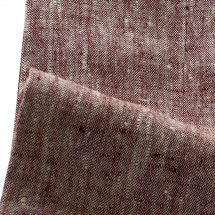 Linen table cloth Catalina Cherry Red