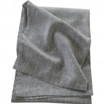 Linen table cloth Catalina Graphite Grey