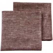 Linen napkins Catalina Cherry Red