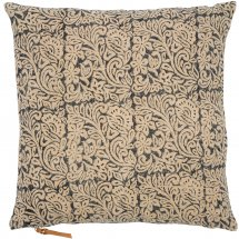 Linen cushion cover Jugend Dark Blue