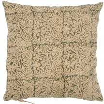 Linen cushion cover Jugend Green