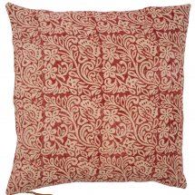 Linen cushion cover Jugend Spicy Red