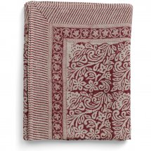 Linen table cloth Jugend Red