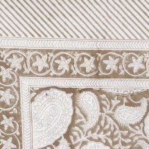 Duk Big Paisley Light Brown