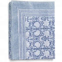 Cotton table cloth Paradise Cornflower