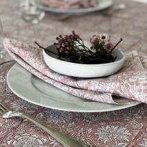 Cotton table cloth Paradise Rose