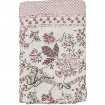 Table Cloth Floral Ruby Linen