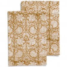 2 kitchen towels Paradise Lion Yellow