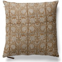 Linen cushion cover Paradise Ochre