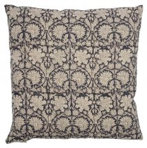 Dark Blue linen cushion cover