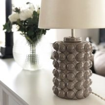Lamp Bubbles Grey