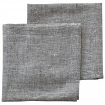 Linen napkins Catalina Graphite Grey