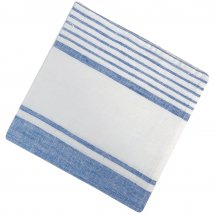 Linen napkins Nantucket Clear Blue