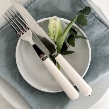 Linen napkins Riviera Blue Agave