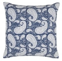 Cover Big Paisley Navy Blue | Chamois