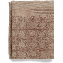 Linen table cloth Paradise Rose