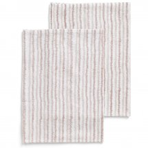 2 kitchen towels Electric Stripe Rose