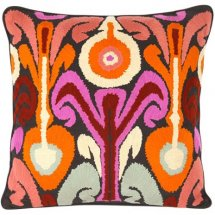 Embroidered cushion Sunset Boulevard