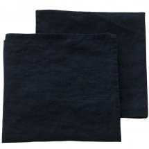 Linen napkins Riviera Midnight Blue