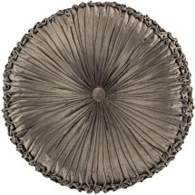 Round pillow Grey Brown