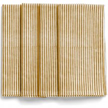 Napkins Lion Yellow Stripe