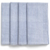 Cotton napkins in blue Corn flower
