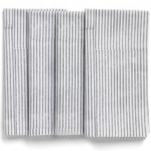 Napkins Paradise Grey Stripe