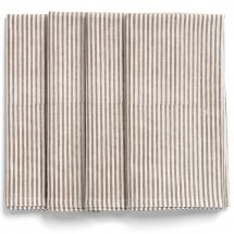 Napkins Paradise Light Brown Stripe