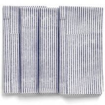 Napkins Navy Blue  Stripe