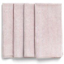 Napkins Paradise Rose Stripe