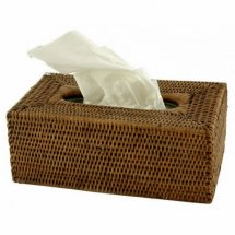 Tissue Box Brown