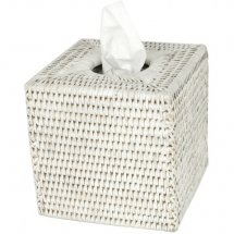 Tissue Box White