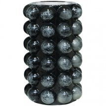 Vase Bubbles Black Marble 2 sizes