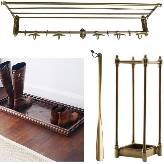 Boot paraplyställ metall mässing | Ekeby Möbler