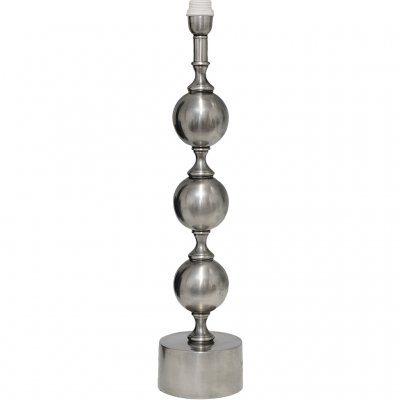 Lamp stand Charlotta Antique Silver