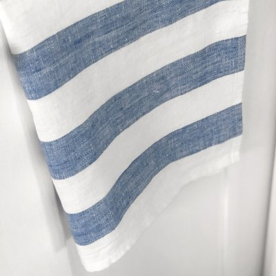 Towel Stripe Clear Blue