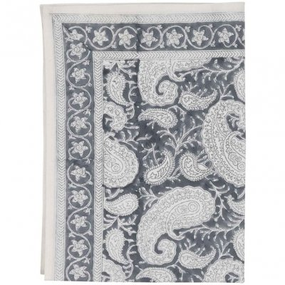 "Kitchen towel, set with 2 ""Big Paisley Sea Blue"""