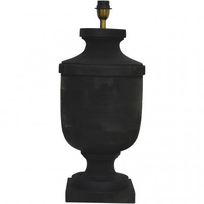 Lampfot Monterey Antique Black - 3 storlekar