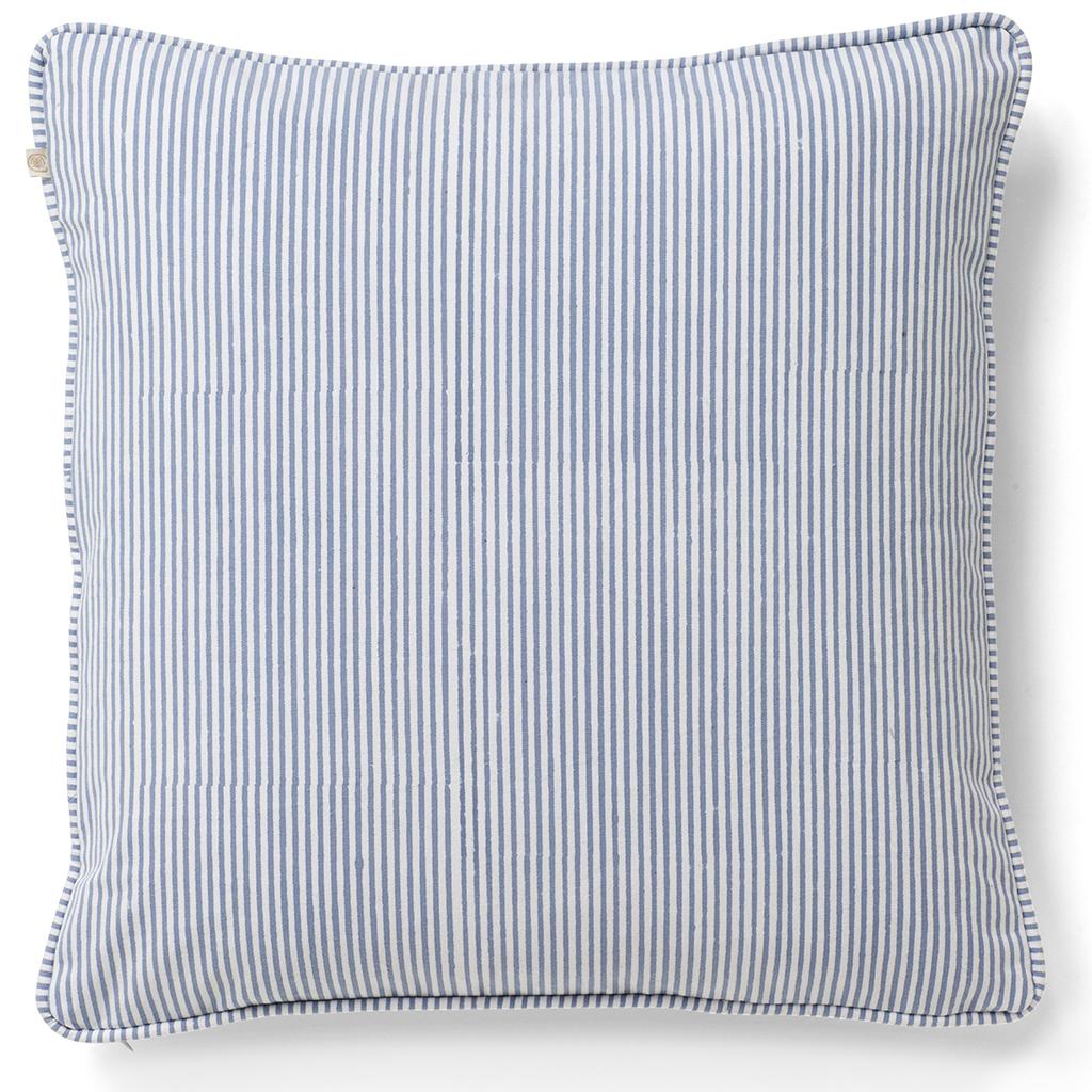 Midcentury Pillow Sham Wavy Mid Century Modern Orange Cotton Sateen Flanged Pillow Sham by Spoonflower Funky Stripe Coral by lellobird